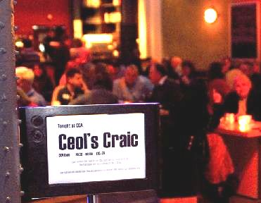 Ceòl 's craic sign and 